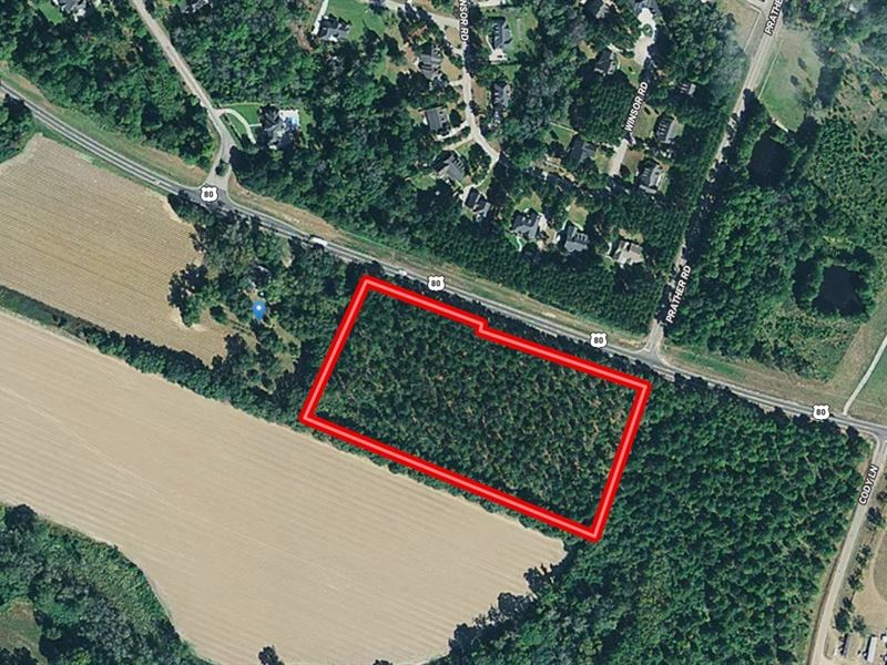 7.83 Acres Available Convenient to : Statesboro : Bulloch County : Georgia