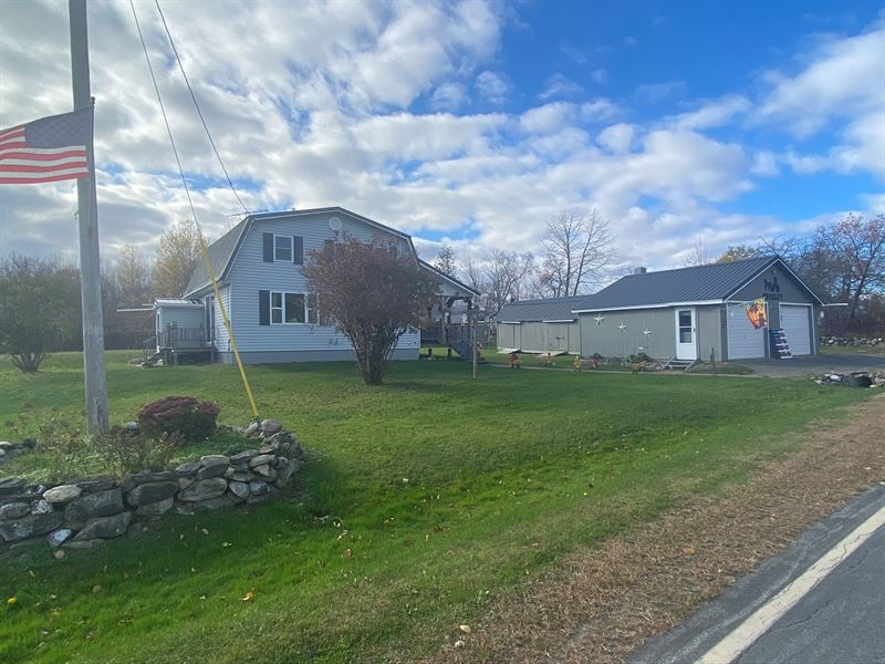 Two Homes For Sale in Maine : Kingman : Penobscot County : Maine