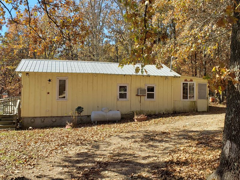Land with Cabins for Sale : Vanzant : Douglas County : Missouri