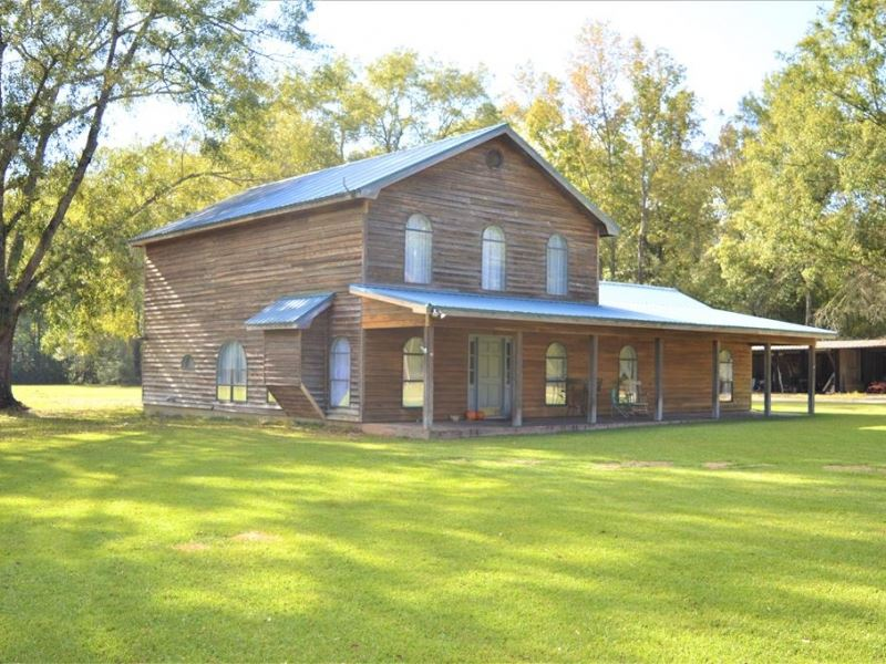 Rustic Style Home For Sale In North : Summit : Pike County : Mississippi
