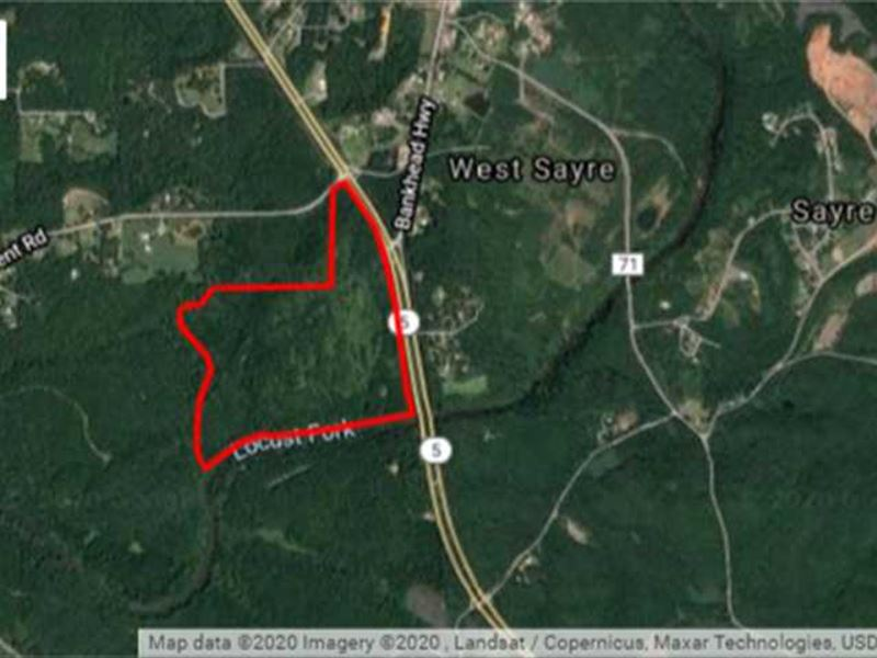 Hwy 78 Frontage 135 Acres : Graysville : Jefferson County : Alabama
