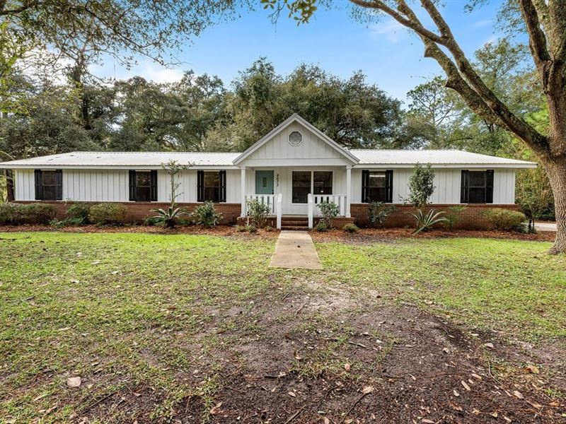 Charming Country Home Branford, FL : Live Oak : Suwannee County : Florida
