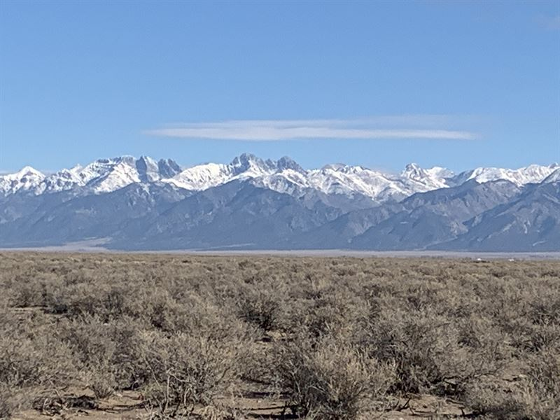 Expansive Views on 40 Acres : Mosca : Alamosa County : Colorado