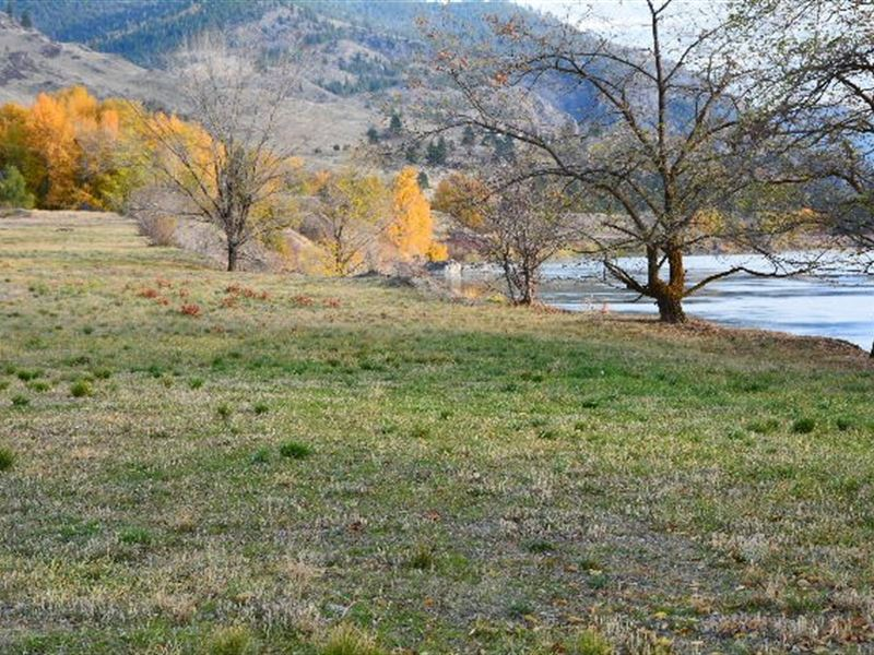 Riverfront Lot For Sale : Plains : Sanders County : Montana