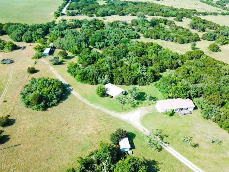 Land For Sale in Central Texas : Purmela : Coryell County : Texas