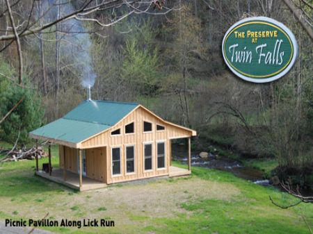 The Preserve At Twin Falls : Cooper Hill : Floyd County : Virginia