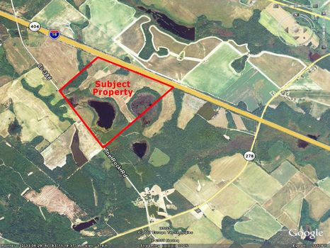 198 Acres with 30 Acre Pond, Timber : Dublin : Laurens County : Georgia