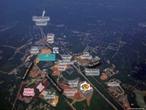 22± Acre Mixed-use Site For Sale : Macon : Bibb County : Georgia