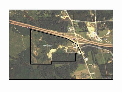 Rare Find - Commercial Prop - 90AC : Hickory : Newton County : Mississippi