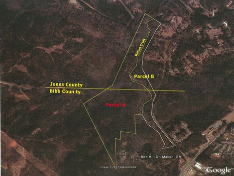 75.36 Acres-Bibb/Jones-Walnut Creek : Macon : Bibb County : Georgia