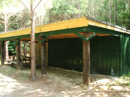 40 Ac. Of Good Hunting With Cabin : Brent : Perry County : Alabama