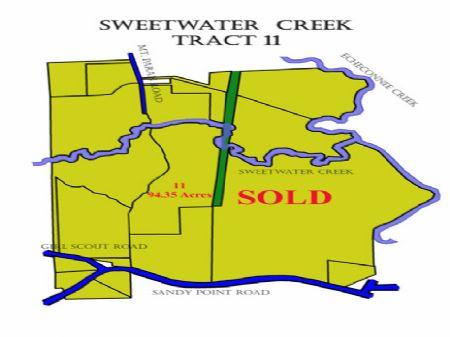 Lot #11 Sweetwater Creek : Macon : Crawford County : Georgia