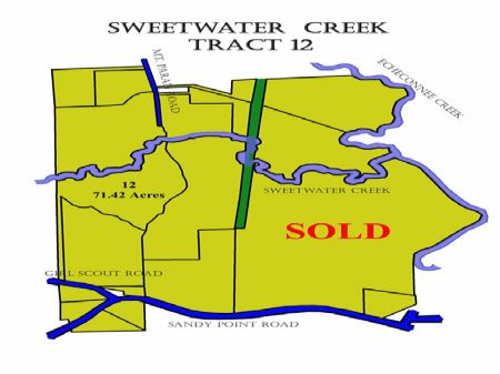 Lot #12 Sweetwater Creek : Macon : Crawford County : Georgia