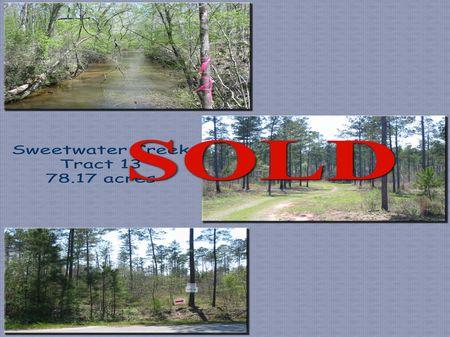 Lot #13 Sweetwater Creek : Macon : Crawford County : Georgia