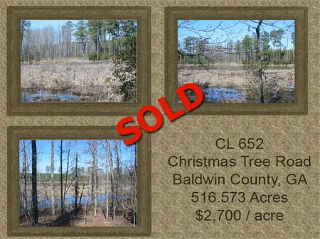 CL 652 GA Hwy 212/Christmas Tree Rd : Milledgeville : Baldwin County : Georgia