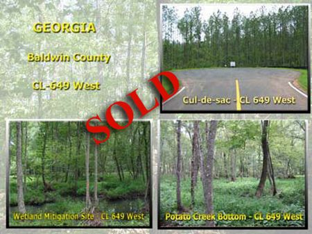 Cl 649 West 55.93 Acres : Milledgeville : Baldwin County : Georgia