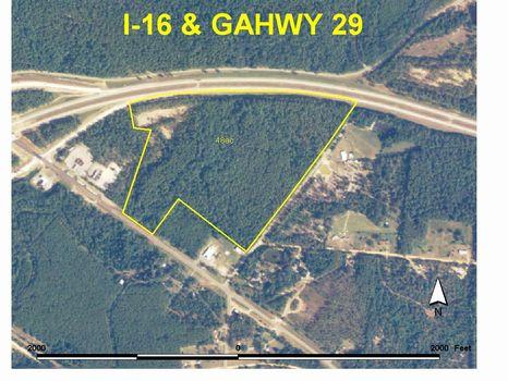 48 Acres Prime Commercial Property : Dublin : Laurens County : Georgia
