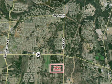 86+ Acre Tract Ideal For Mf Dev : Warner Robins : Houston County : Georgia