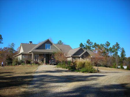 51.7 Acres With Estate Home : Lexington : Oglethorpe County : Georgia