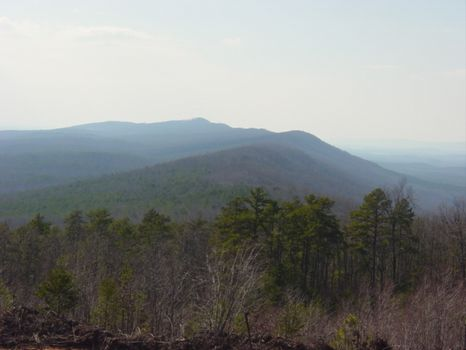 716 ac Mountain Top-Views for Miles : Summerville : Chattooga County : Georgia