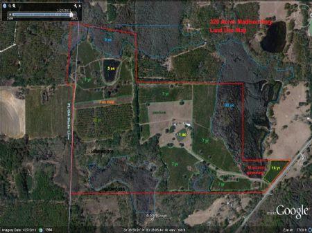 320 Acre Wildlife Paradise : Quitman : Brooks County : Georgia