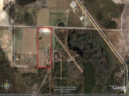 10.53 Acre Pasture Land : Valdosta : Lowndes County : Georgia