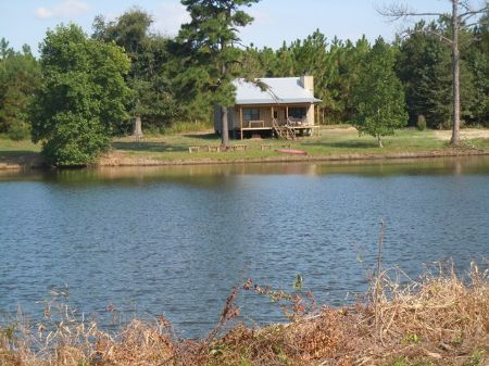 142 Acs Cabin, Pond, Pecan Orchard : Millen : Jenkins County : Georgia
