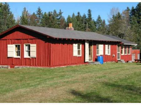 Cabin In The Woods : Ellsworth : Hancock County : Maine