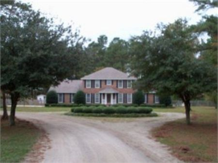 Beautiful Home On Wedgefield Rd : Sumter : South Carolina
