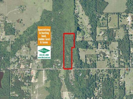 21 Ac Wooded Home Site Land : West Monroe : Ouachita Parish : Louisiana