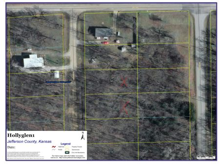 Huge Double Lot Close To Perry Lake : Ozawkie : Jefferson County : Kansas