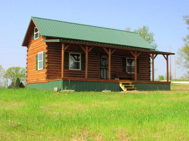 New Log Cabin With View : Sulphur : Crawford County : Indiana