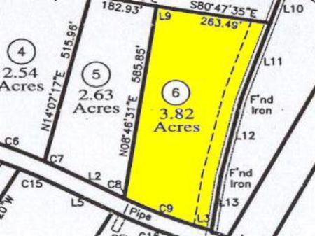 Perc Approved Building Lot : Farmville : Prince Edward County : Virginia