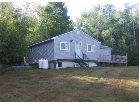 Wildlife Mngment Area Cabin : Atkinson : Piscataquis County : Maine
