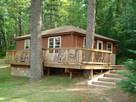 Buckskin Lake Condo : Lac Du Flambeau : Vilas County : Wisconsin