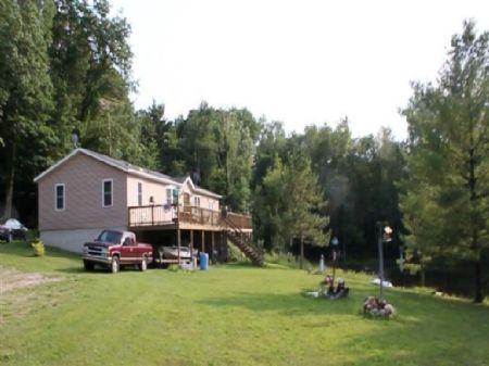 Bridgeton Pond : Grant : Newaygo County : Michigan