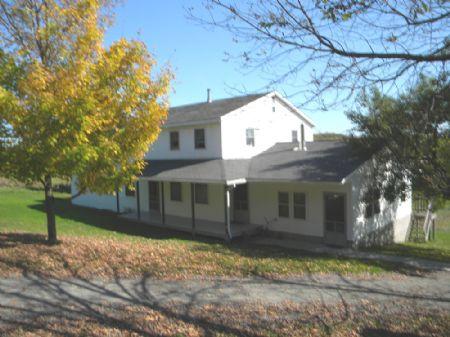60+ Acres House Barns Pasture Cabin : Wheeler : Steuben County : New York