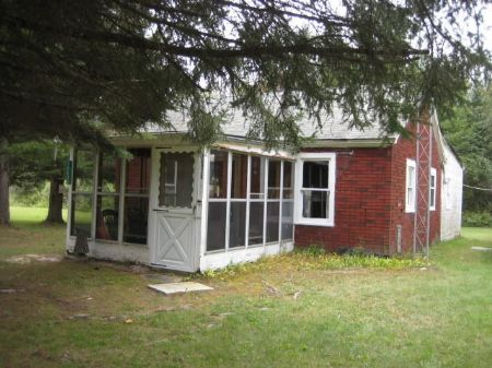 Brick Home On 80 Acres : Atlanta : Montmorency County : Michigan