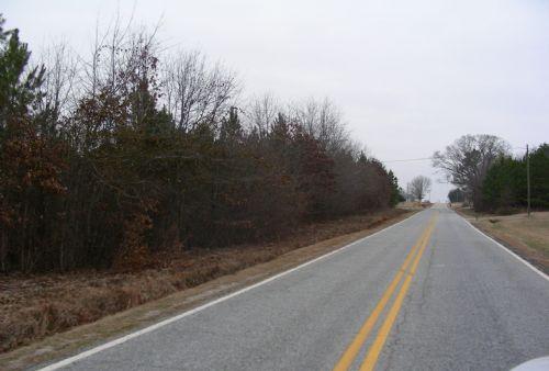 New Cross Dairy Farm Road : Fair Play : Oconee County : South Carolina