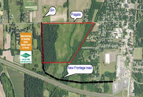 133 Ac Wooded Development Tract : Rayville : Richland Parish : Louisiana