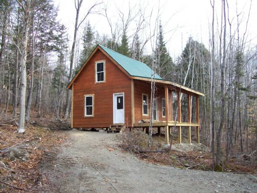 Awesome Hunting Cabin Land For Sale Caratunk