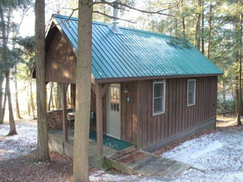 Cabin On Gorton Lake & State Forest : Brookfield : Madison County : New York