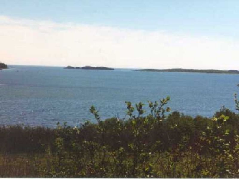 Little Machias Bay Oceanview Lots : Cutler : Washington County : Maine