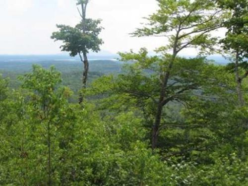 Peaked Mountain Homesite : Amherst : Hancock County : Maine