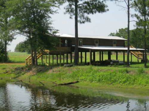 Waterfront Cabin On 15 Acres : Metter : Candler County : Georgia