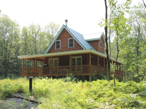 Seasonal Home Near State Forest : Florence : Oneida County : New York