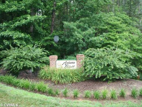 6103 Autumn Bluff Road Lot 1 : Powhatan : Virginia