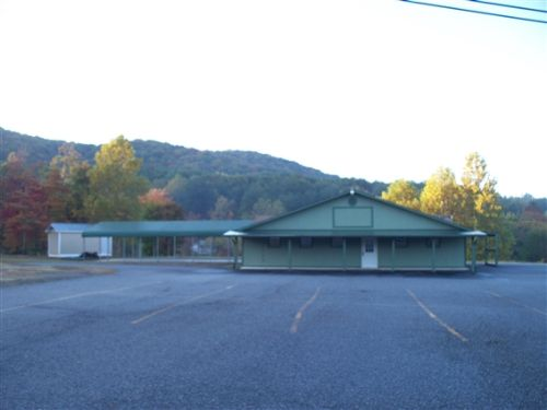 3.68 Acres With Restaurant/lounge : Copperhill : Polk County : Tennessee