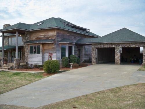 Mountain Style Home On 25 Ac./pond : Bartow : Jefferson County : Georgia