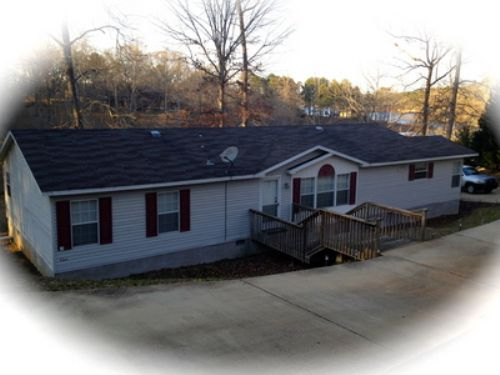Lake Home W/ Lots Of Water Frontage : Wedowee : Randolph County : Alabama
